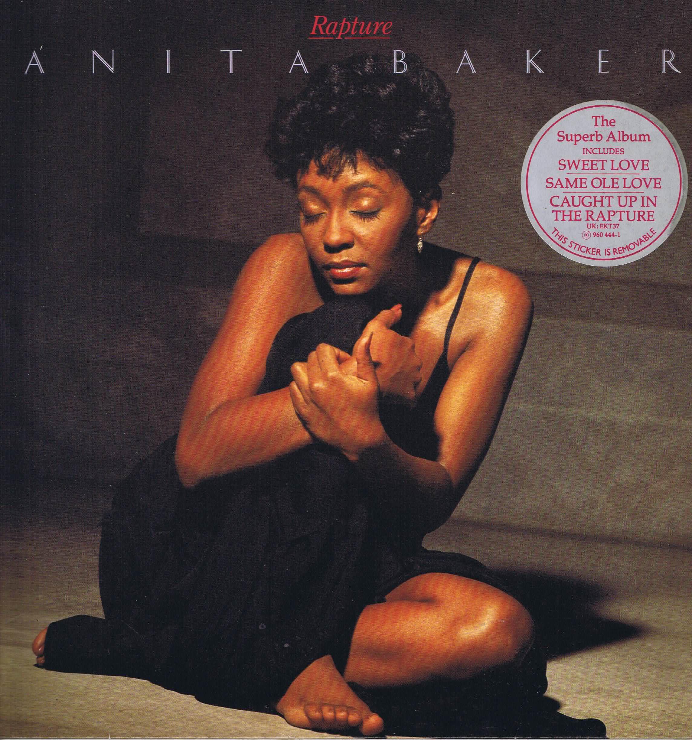 Anita Baker - Rapture - Elektra EKT 37 - LP Vinyl Record • Wax