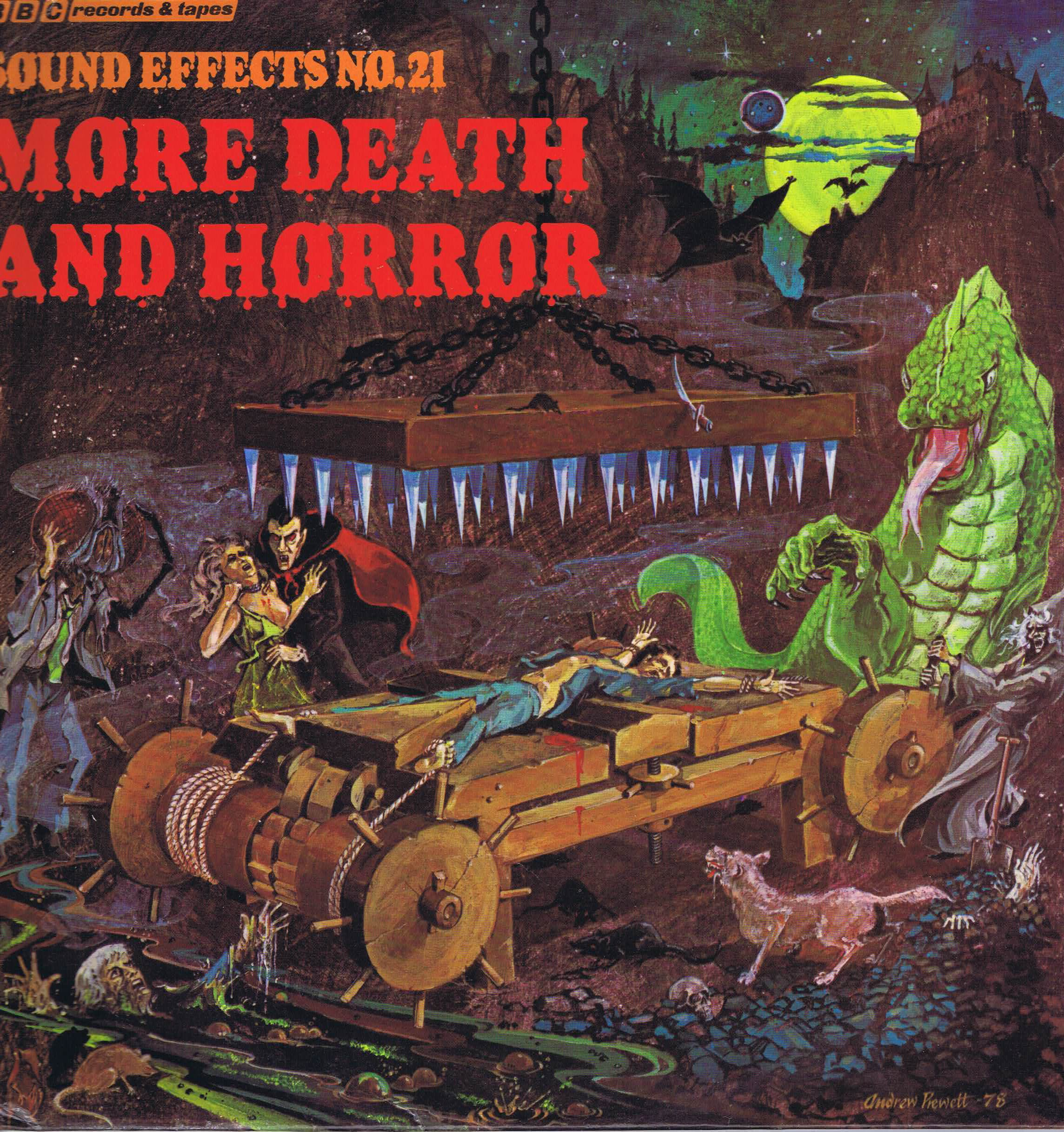BBC Sound Effects No. 21 – More Death And Horror– Red Vinyl