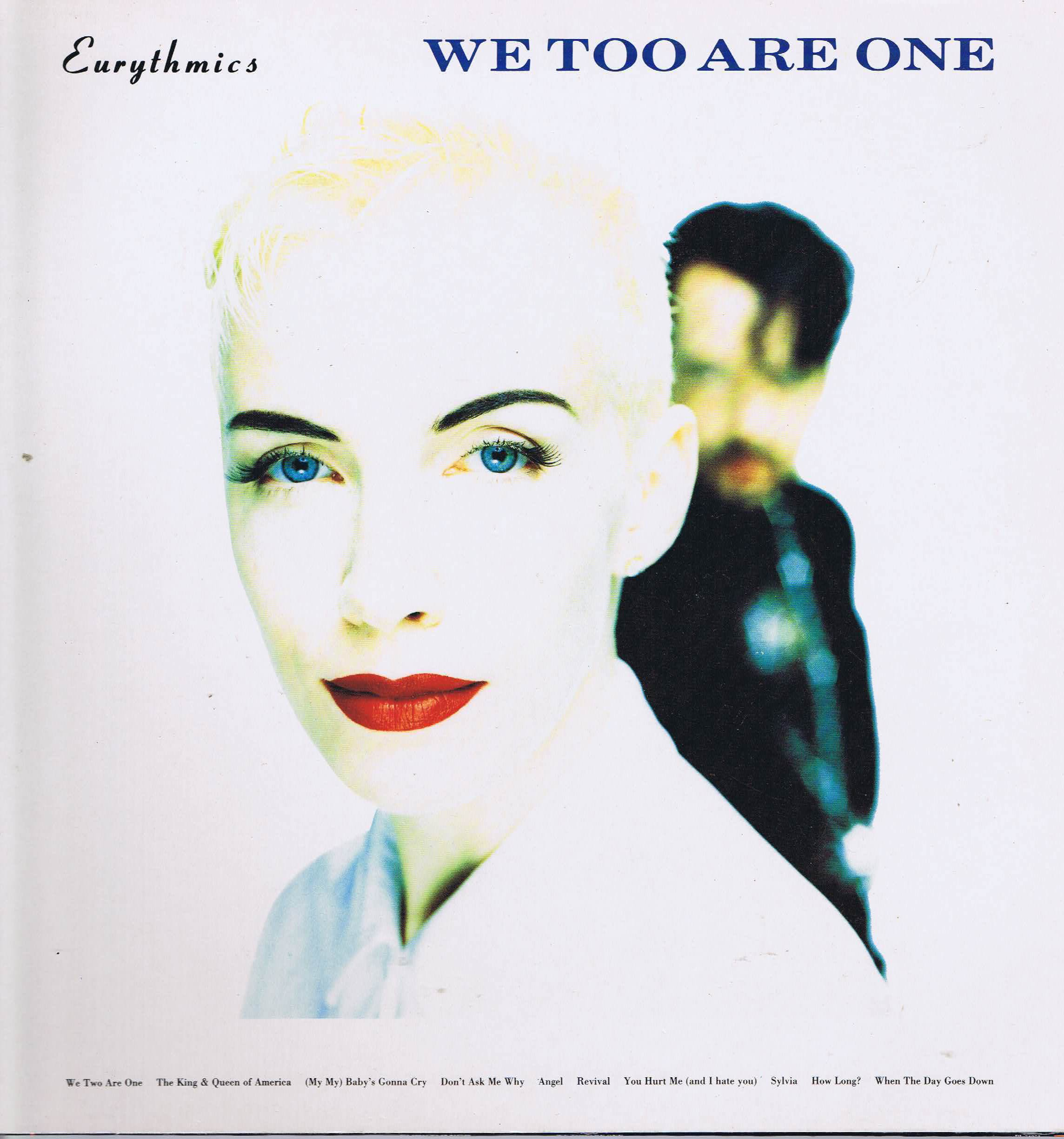 Eurythmics We Too Are One Pl 74251 Lp Vinyl Record Wax