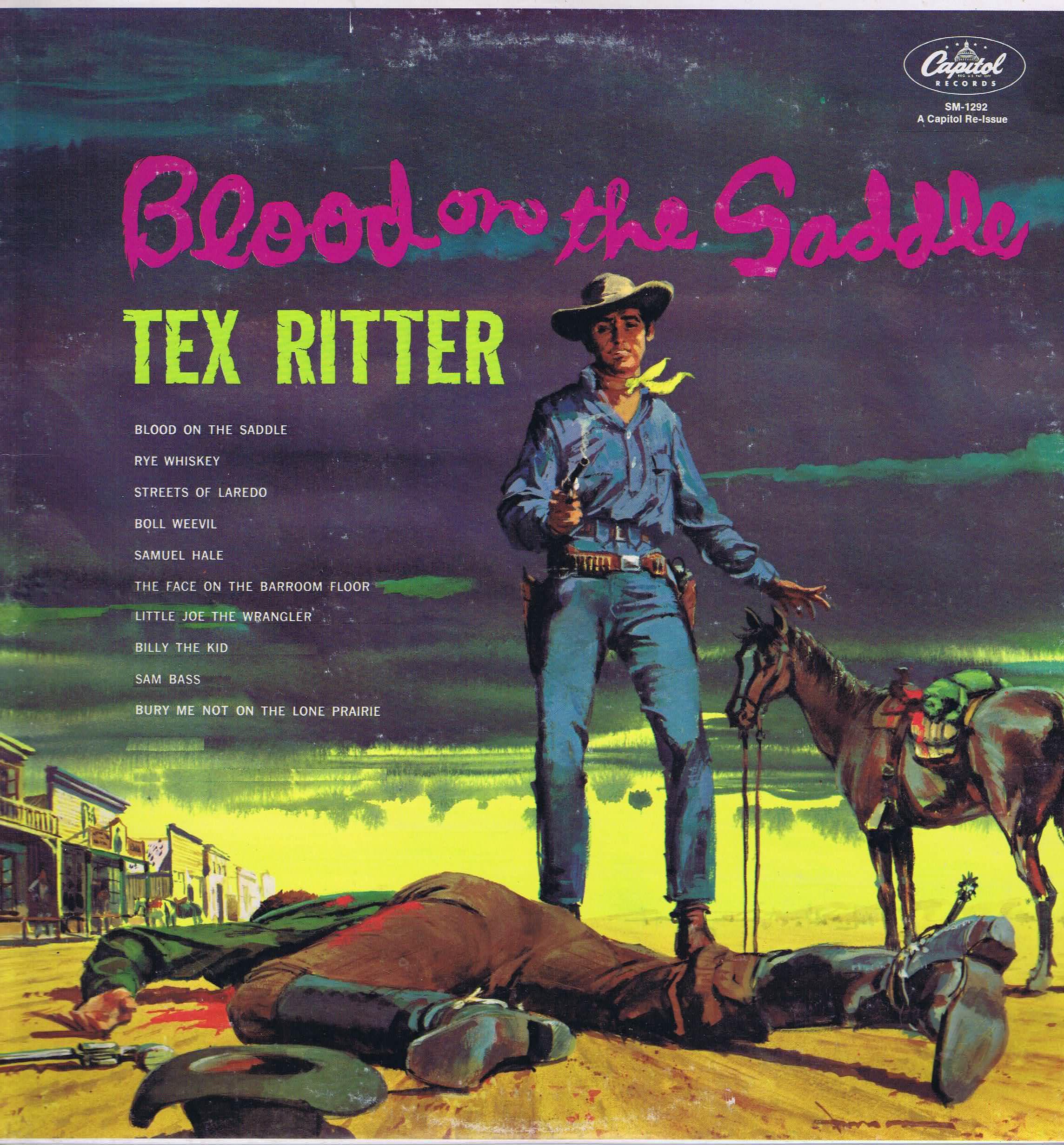 Tex Ritter Streets Of Laredo