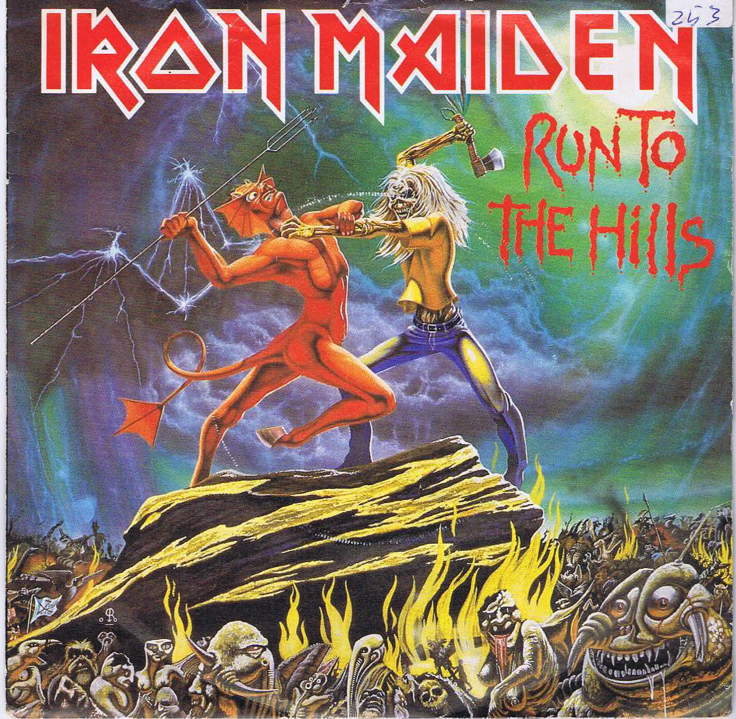 Iron Maiden Run To The Hills Corre A Las Colinas