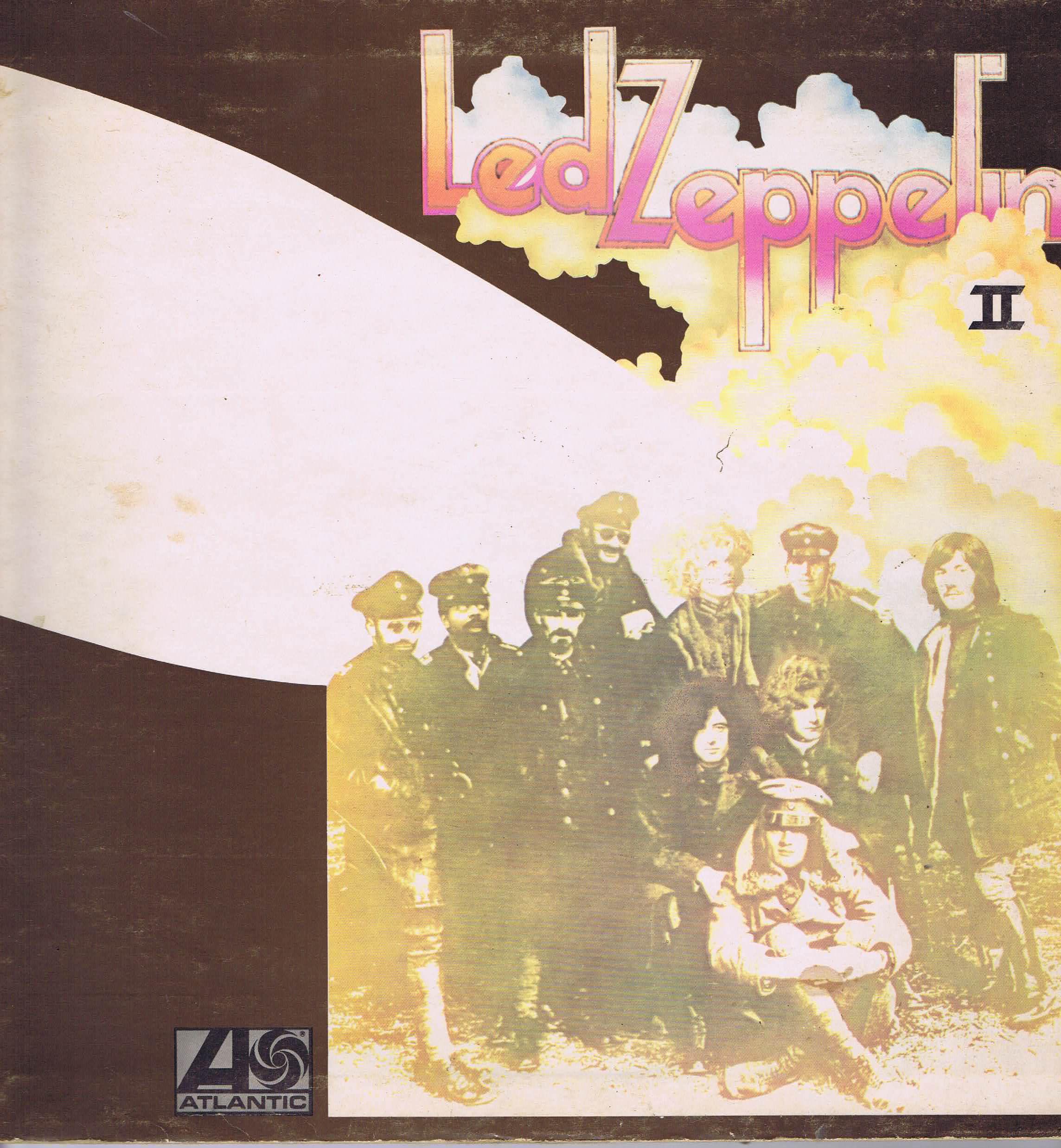 Led Zeppelin Led Zeppelin Ii Atlantic 588 198 Lp