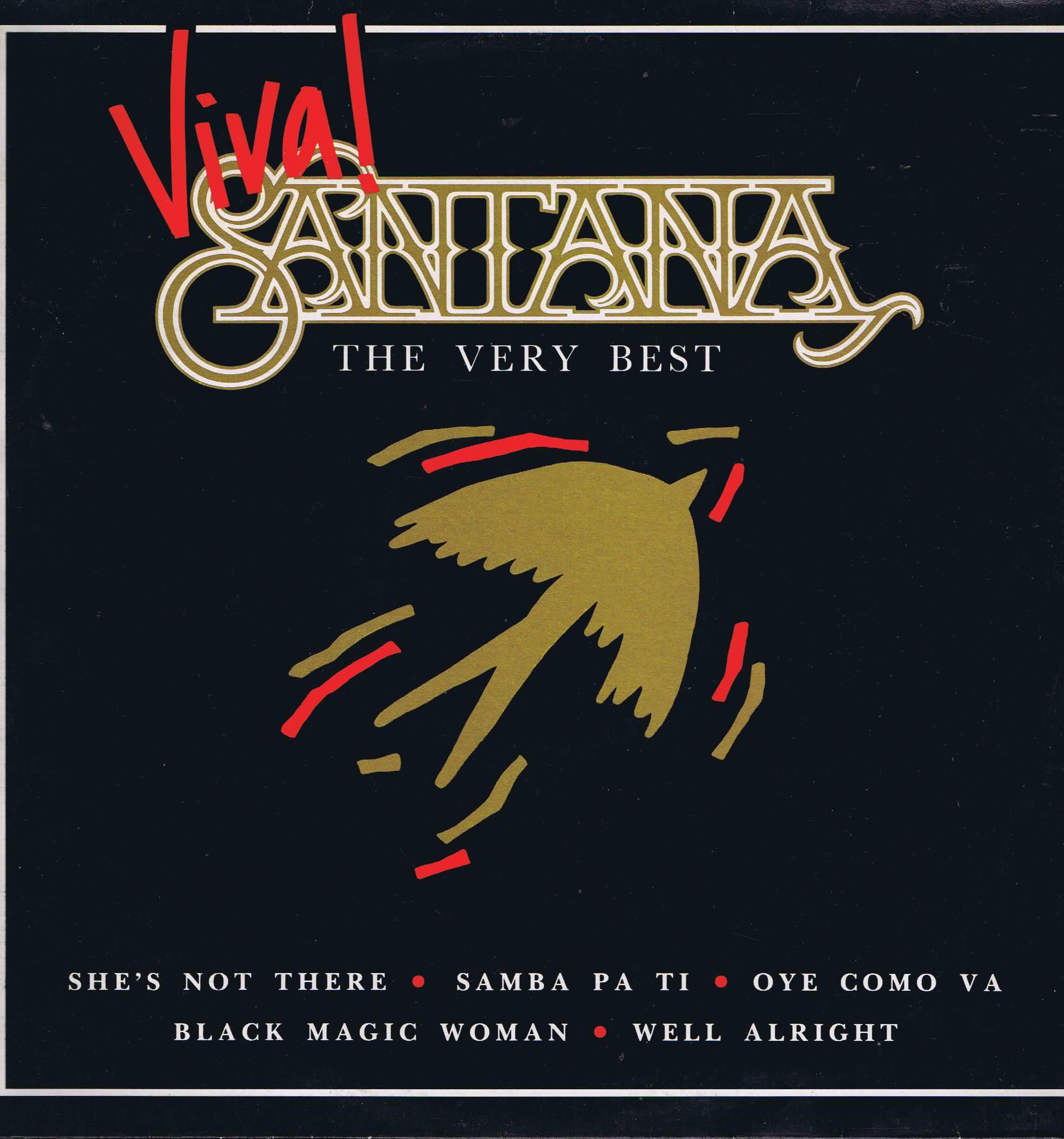Santana Viva Santana The Very Best Ne 1338 Lp