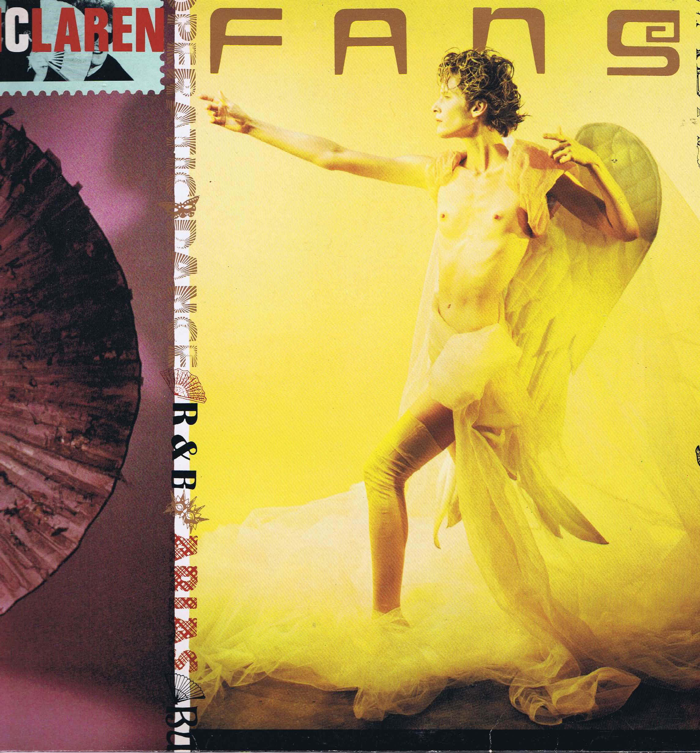 Malcolm Mclaren Fans Charisma Mmdl 2 Lp Vinyl Record