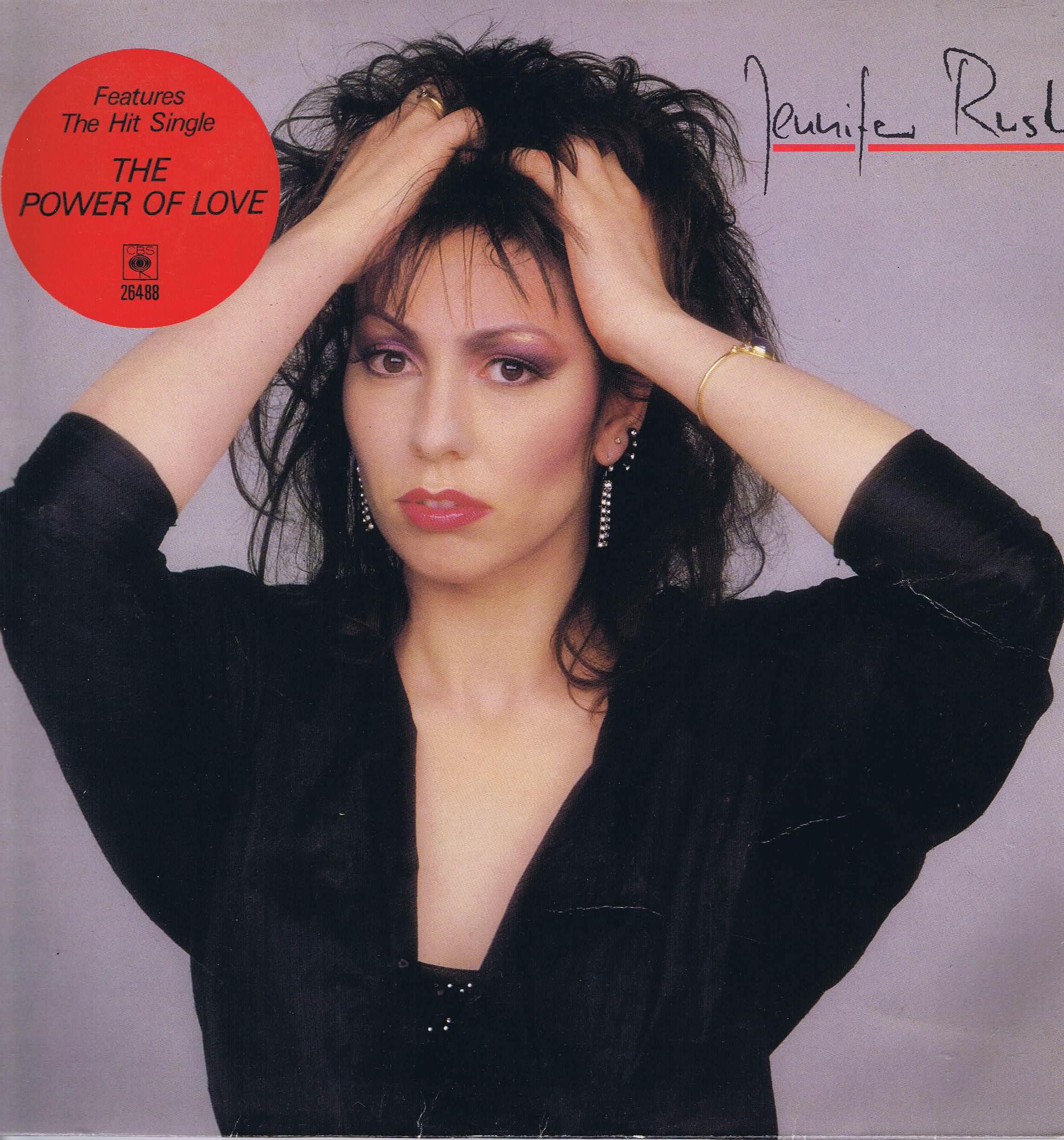 Jennifer Rush – Jennifer Rush – CBS 26488 – LP Vinyl ...  Jennifer Rush �...