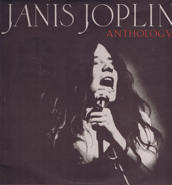 Janis Joplin Anthology Cbs 22101 Double Lp Vinyl