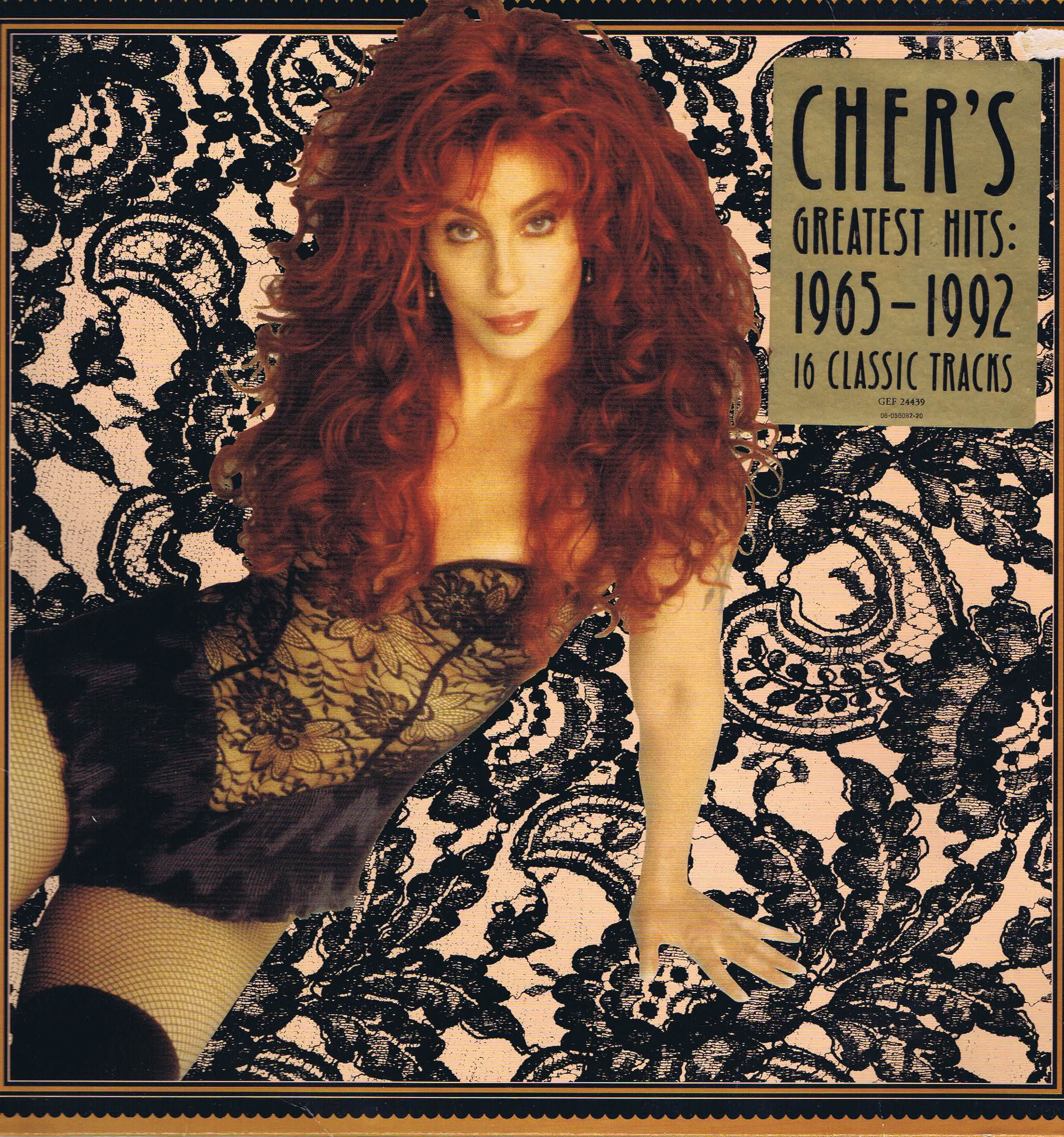 Cher Cher S Greatest Hits 1965 1992 Gef 24439 Double
