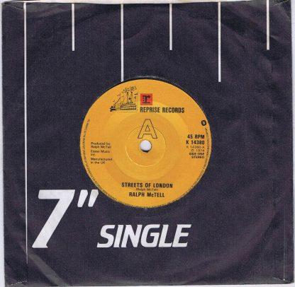 Ralph McTell – Streets Of London - Reprise K 14380 - 7-inch Vinyl Record