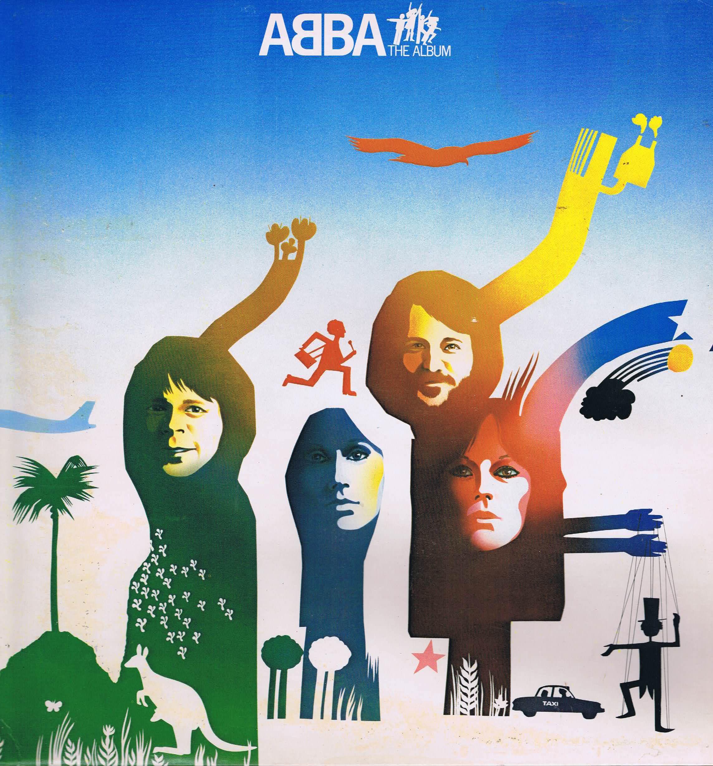 Abba The Album Epc 86052 Promo Lp Vinyl Record Wax