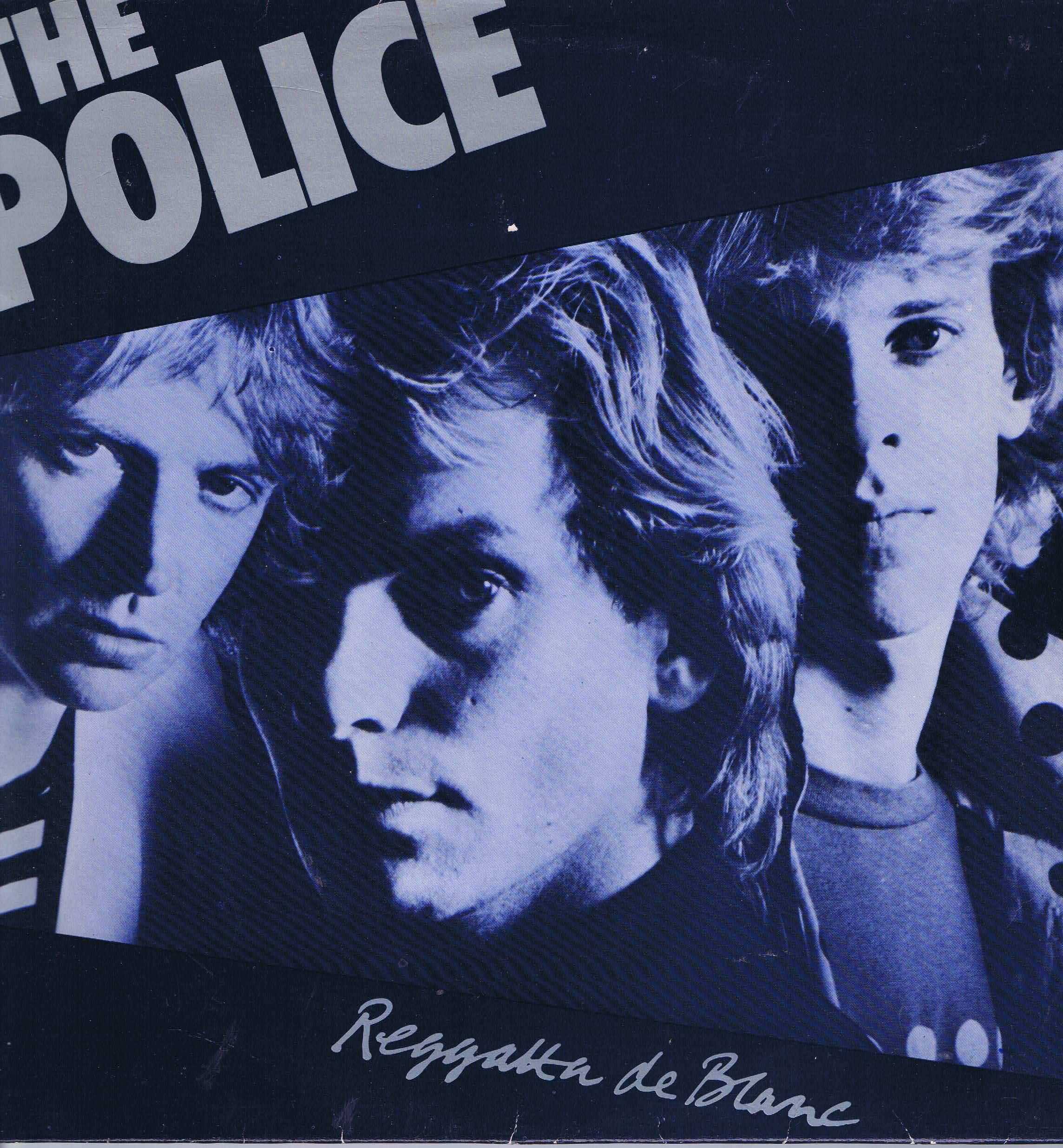 The Police Regatta De Blanc A Amp M Amlh 64792 Lp Vinyl