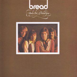 Bread - Baby I'm-A Want You - K 42100 - Gatefold LP Vinyl Record