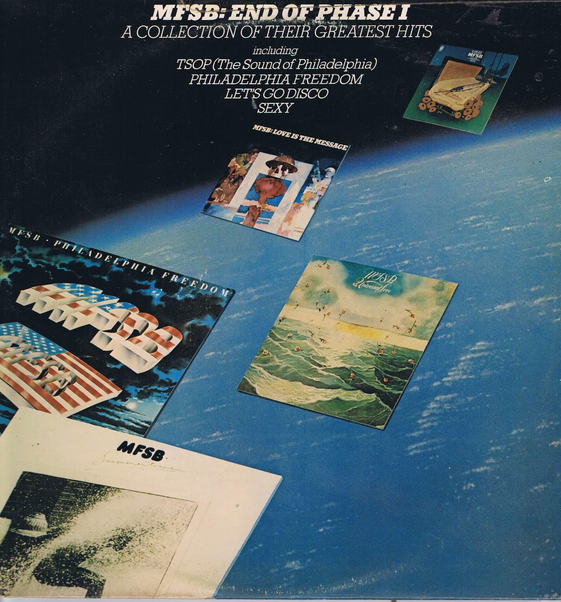 MFSB - End Of Phase I - PIR 81889 - LP Record