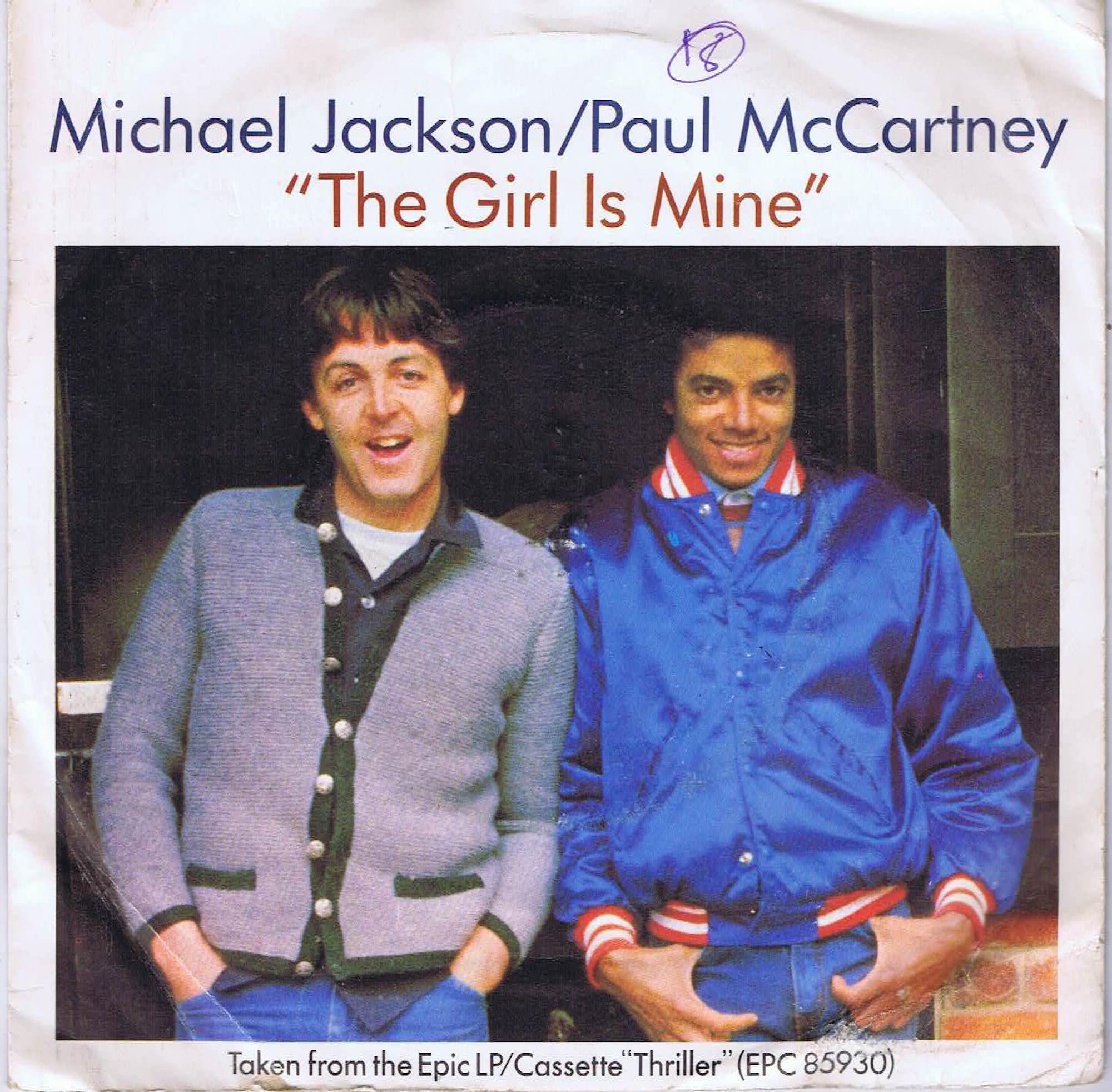 Michael Jackson Amp Paul Mccartney The Girl Is Mine 7