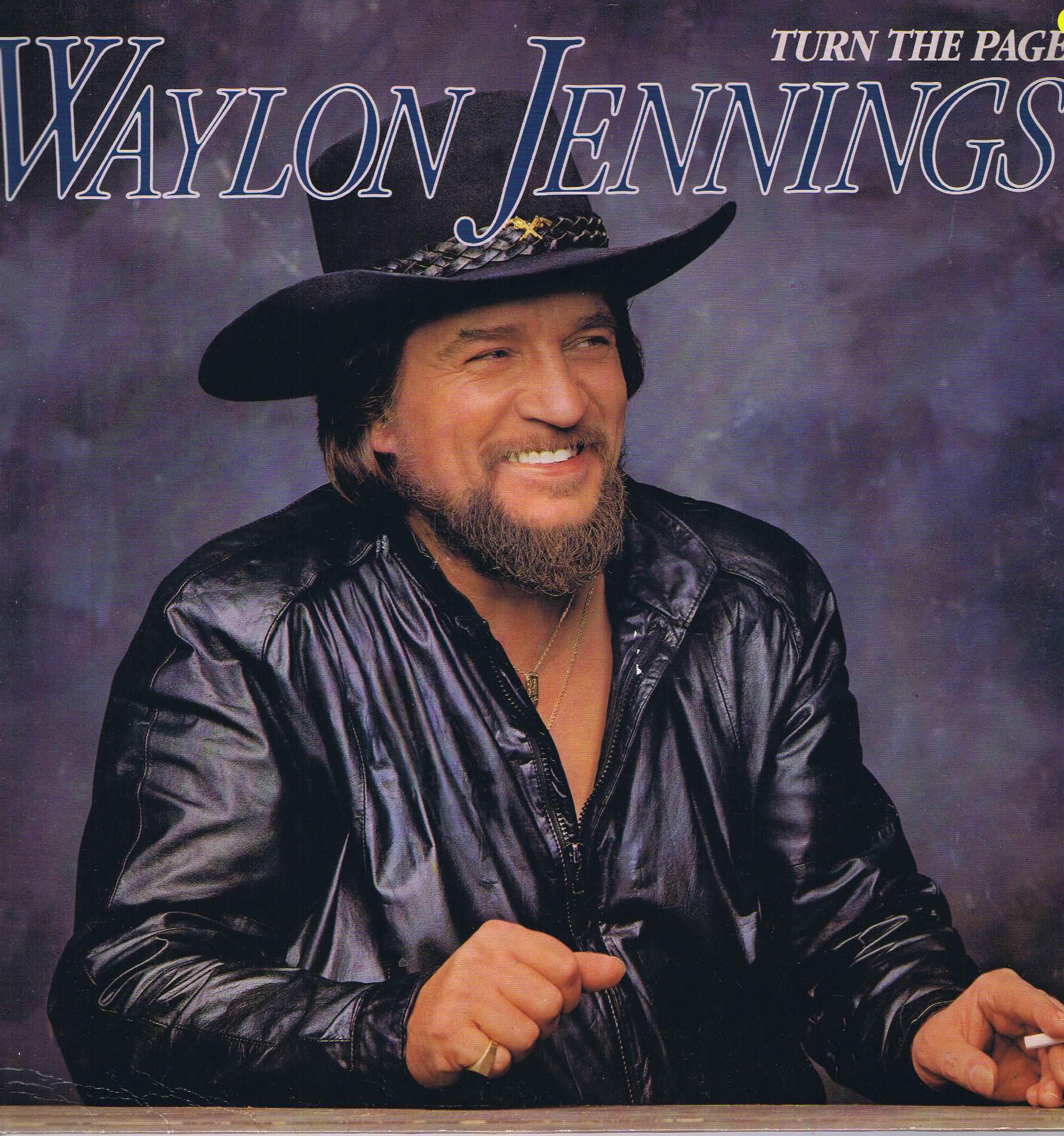 Waylon Jennings Turn The Page Pl 85 428 Lp Vinyl