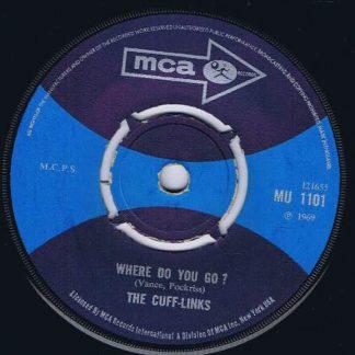The Cuff-Links – Tracy - MU 1101 - 7-inch Vinyl Record