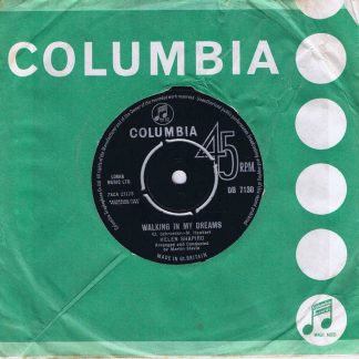 Helen Shapiro – Look Who It Is - DB 7130 - 7-inch Vinyl Record