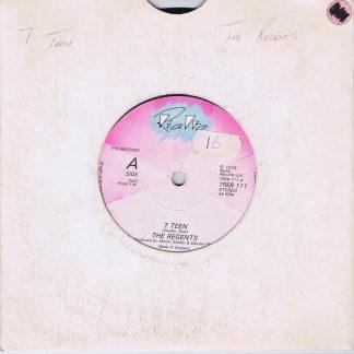 The Regents – 7 Teen - TREB 111 - 7-inch Vinyl Record