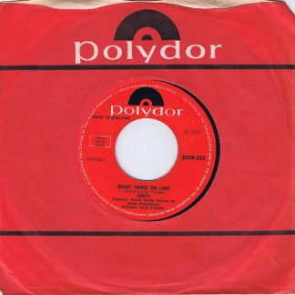 Verity – Bright Shines The Light / The World's A Clockwork Orange - 7-inch Vinyl Record