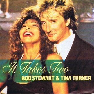 Rod Stewart & Tina Turner – It Takes Two - ROD 1 - 7-inch Vinyl Record