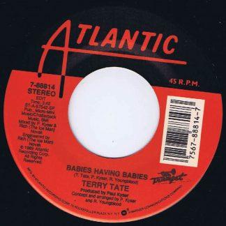 Terry Tate – Babies Having Babies - 7-88814 - 7-inch Vinyl Record