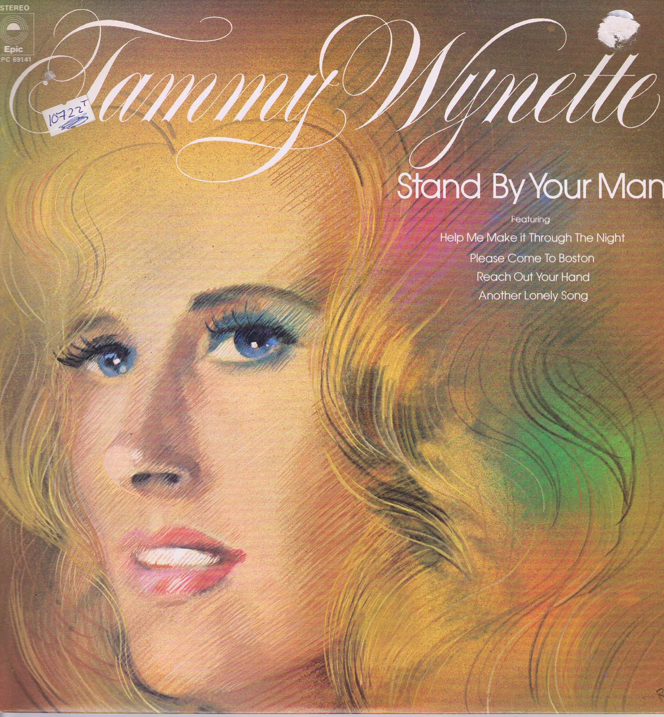 Tammy Wynette Stand By Your Man Epc 69141 Lp Vinyl