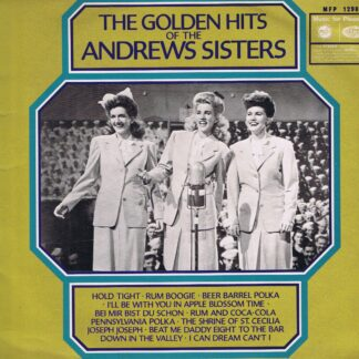 The Golden Hits Of The Andrews Sisters – MFP 1298 - LP Vinyl Record