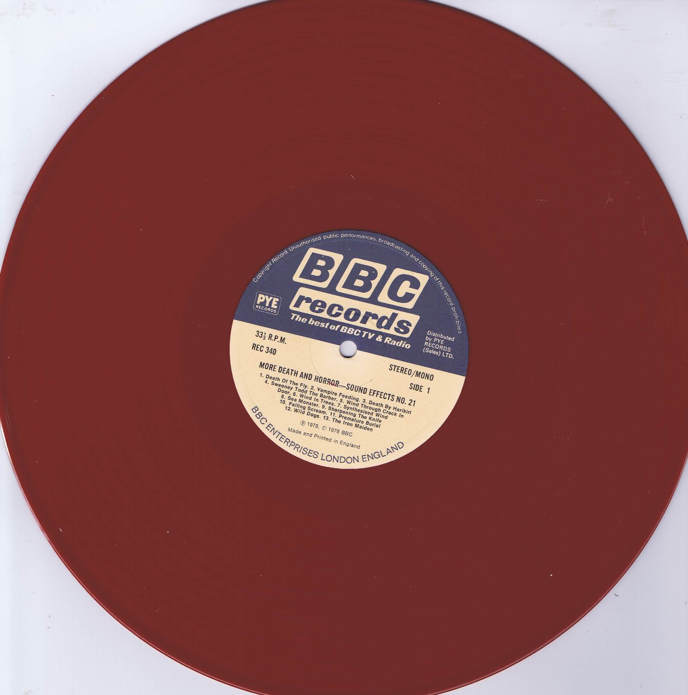 The BBC Sound Effects Library - Essential Sound Effects