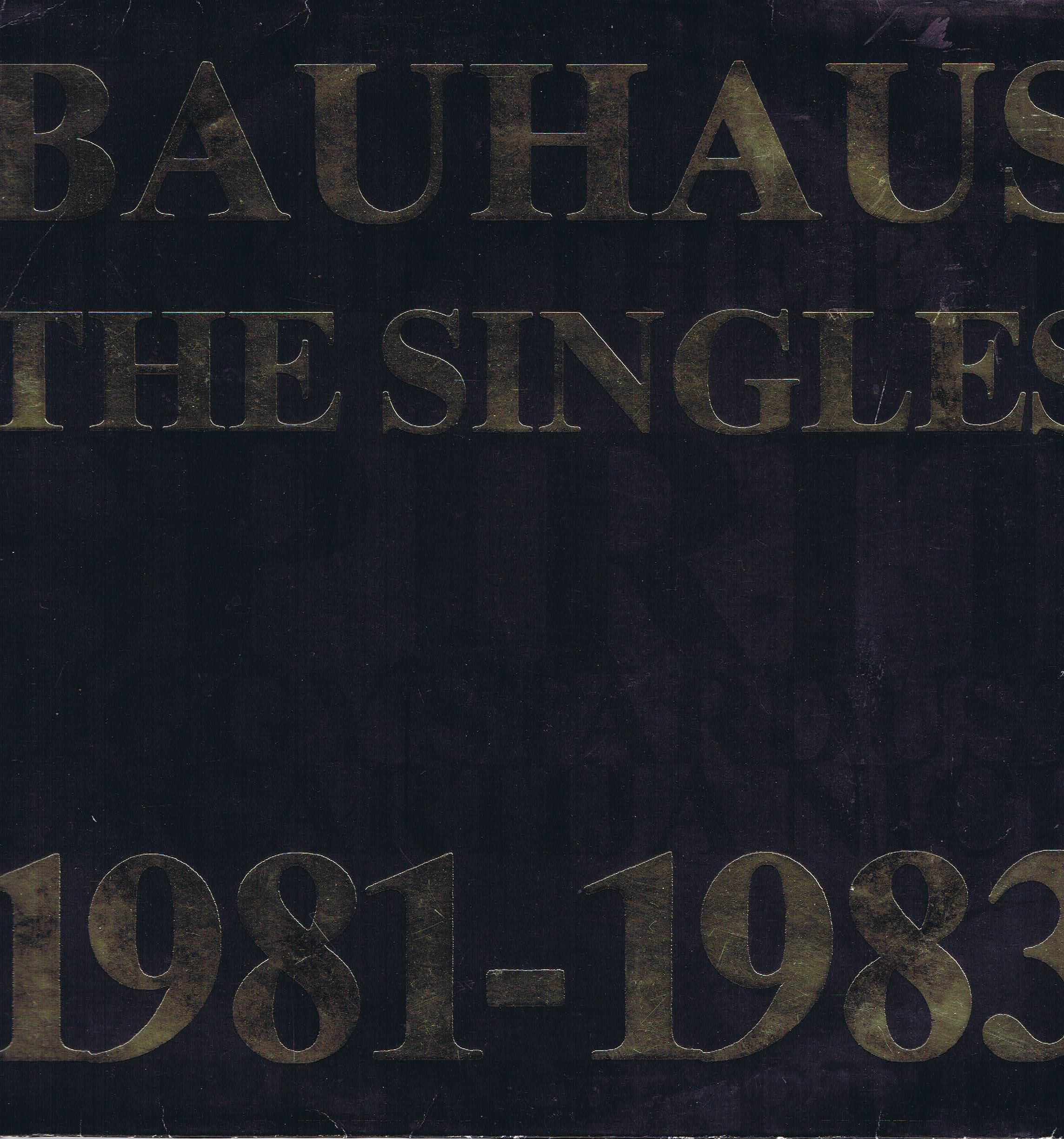 bauhaus the singles 1981 1983 lp vinyl record wax. Black Bedroom Furniture Sets. Home Design Ideas