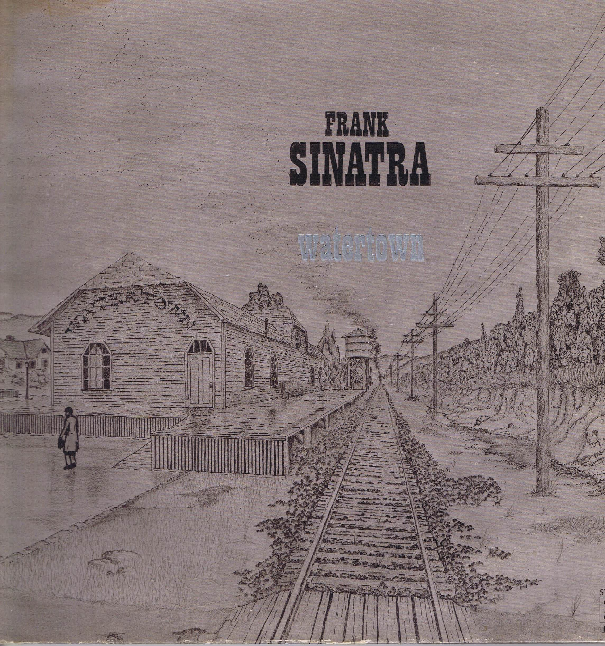 Frank Sinatra Watertown Rslp 1031 Lp Vinyl Record