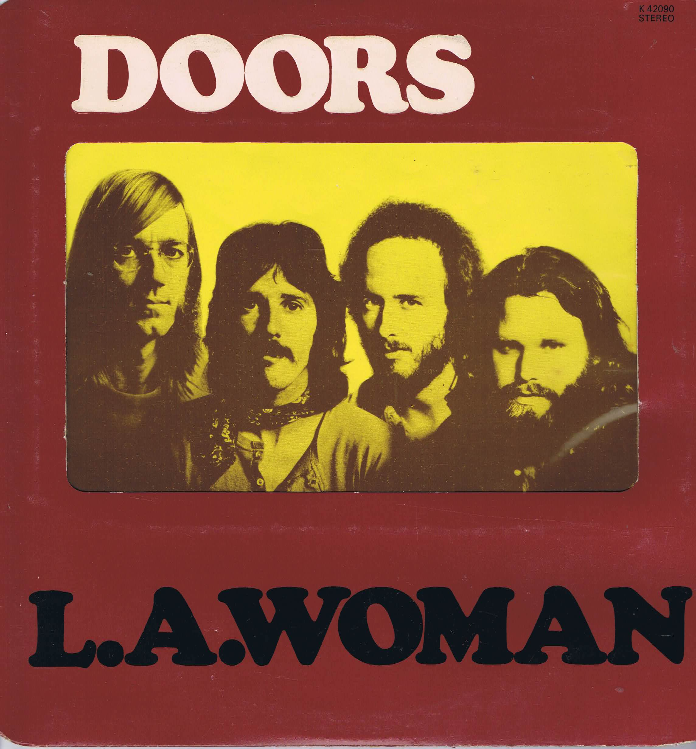 the doors l a woman k 42090 a1 b1 lp vinyl record wax vinyl records. Black Bedroom Furniture Sets. Home Design Ideas