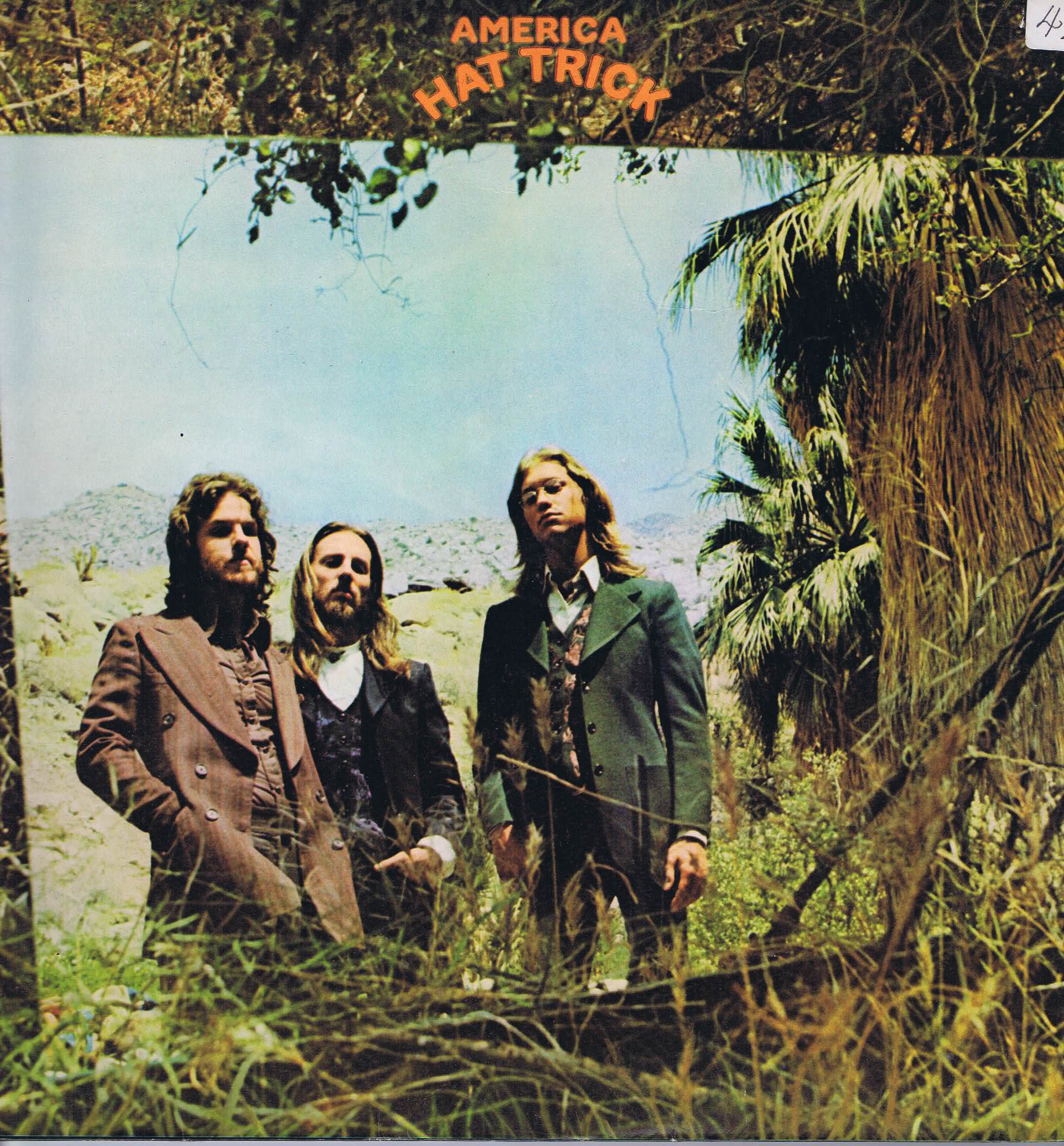 America Hat Trick K 56016 Lp Vinyl Record Wax