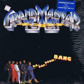Grandmaster Flash – Ba-Dop-Boom-Bang - US Pressing - LP Vinyl Record