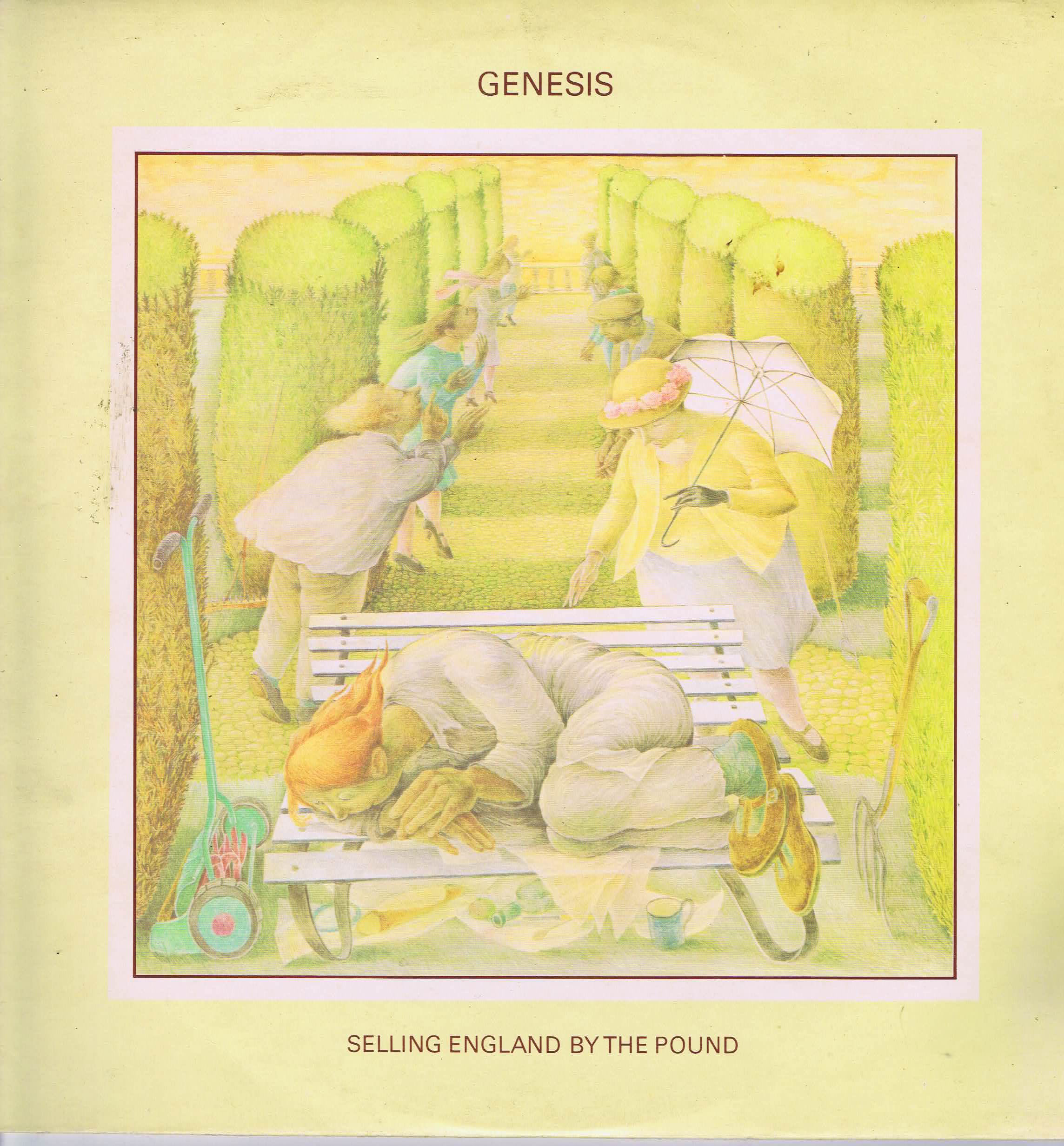 Genesis Selling England By The Pound Cas 1074 Lp