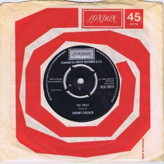 Chubby Checker – Let's Twist Again - HLU 10512 - 7-inch Vinyl Record