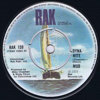 Mud – Dyna-Mite - RAK 159 - 7-inch Vinyl Record