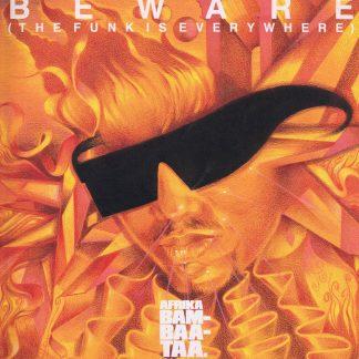 Afrika Bambaataa – Beware (The Funk Is Everywhere) - LP Vinyl Record