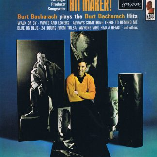 Burt Bacharach – Hit Maker ! - HAR.8233 - LP Vinyl Record
