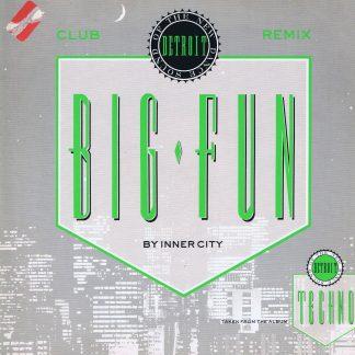 Inner City – Big Fun (Club Remix) - TENR 240 - 12-inch Vinyl Record