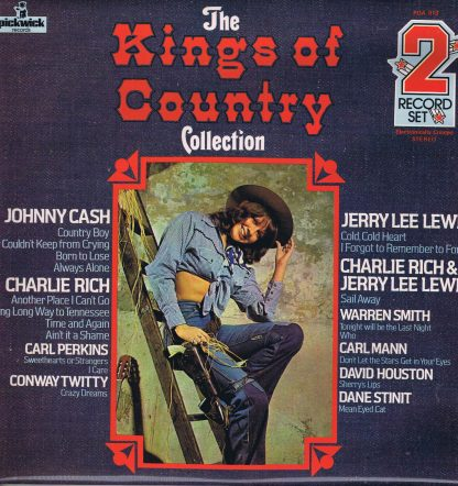 Various – The Kings Of Country Collection - PDA 013 - 2-LP Vinyl Record