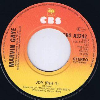Marvin Gaye – Joy (Part 1) - CBS A3242 - 7-inch Vinyl Record