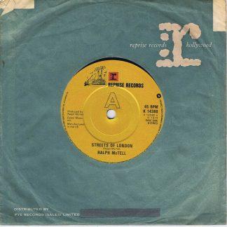 Ralph McTell – Streets Of London - K 14380 - 7-inch Vinyl Record