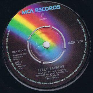 Telly Savalas – If - MCA 174 - 7-inch Vinyl Record
