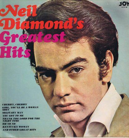 Neil Diamond - Neil Diamond's Greatest Hits - JOYS 188 - LP Vinyl Record