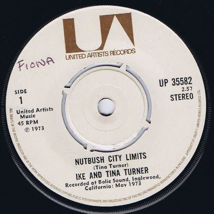 Ike & Tina Turner – Nutbush City Limits – 7-inch Vinyl Record