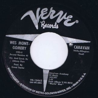Wes Montgomery - Senza Fine / Caravan - VK-10443 - 7-inch Record