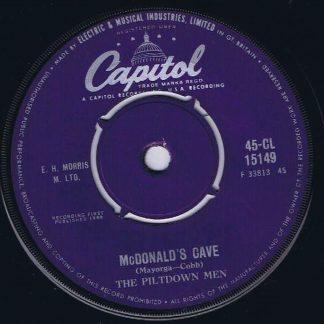 The Piltdown Men – McDonald's Cave - 45-CL 15149 - 7-inch Vinyl Record