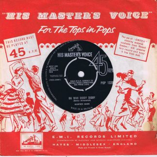 Manfred Mann – Do Wah Diddy Diddy - POP 1320 - 7-inch Vinyl Record