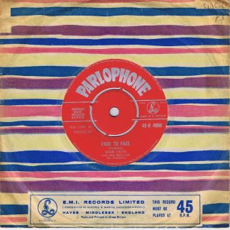 Adam Faith With John Barry And His Orchestra – As You Like It - 7-inch Vinyl Record
