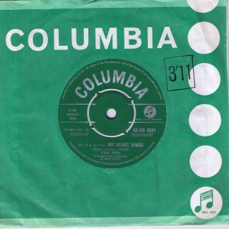 Paul Anka – (All Of A Sudden) My Heart Sings - 45-DB 4241 - 7-inch Vinyl Record