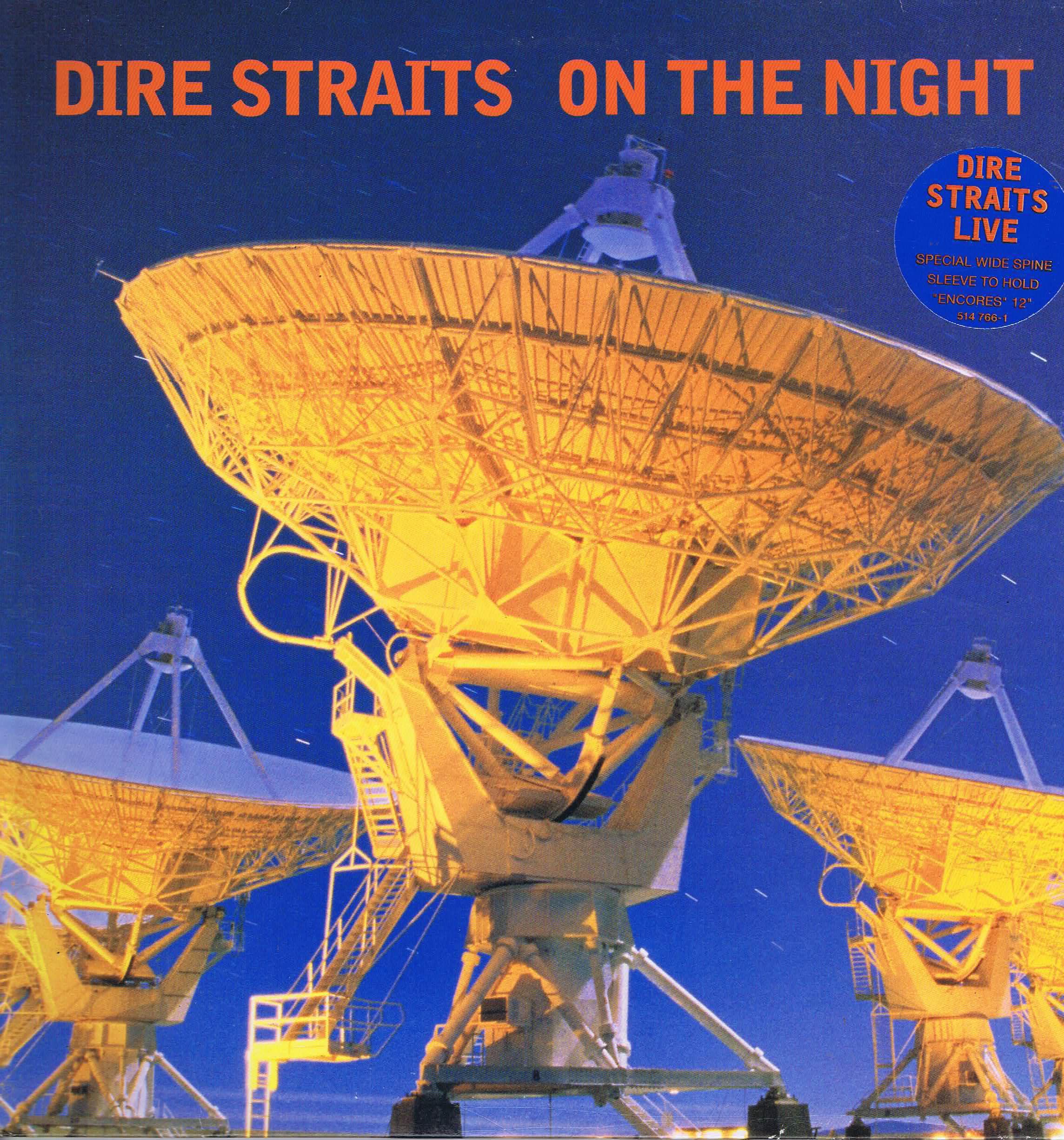 Dire Straits On The Night Vertigo 514 766 1 2 Lp